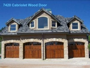 Custom Garage door Allied Overhead Door