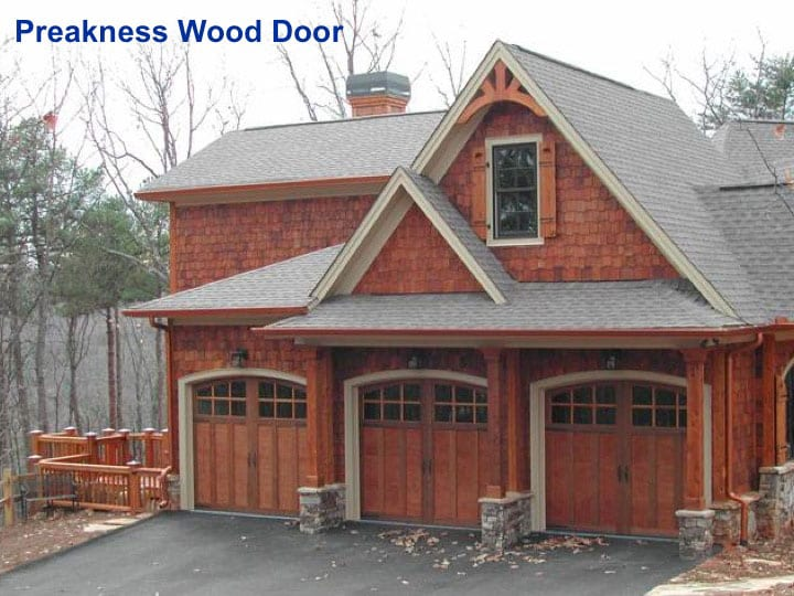Jackson Custom Wood Garage Door ...