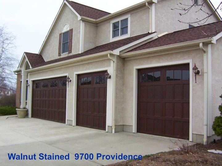 Simulated Wood Garage Doors ...